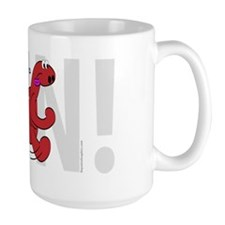 Running Dinosaur Mug