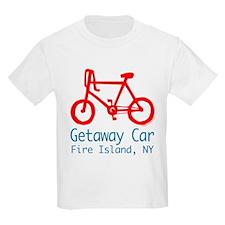 Fire Island Getaway Car T-Shirt