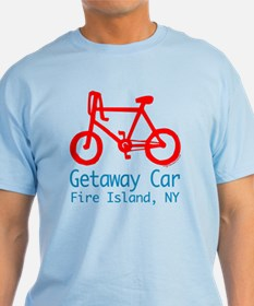 Fire Island Getaway Car T-Shirt