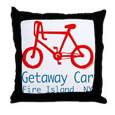 Fire Island Getaway Car Throw Pillow