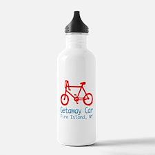 Fire Island Getaway Car Water Bottle