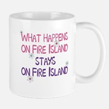 What Happens on Fire Island Mug
