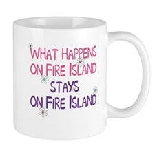 What Happens on Fire Island Mug