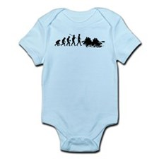 White Water Rafting Infant Bodysuit