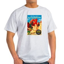 Utah Travel Poster 2 T-Shirt