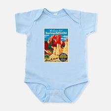 Utah Travel Poster 2 Infant Bodysuit
