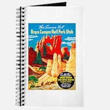 Utah Travel Poster 2 Journal