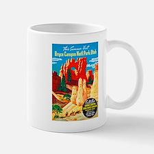 Utah Travel Poster 2 Small Small Mug