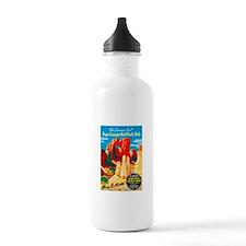 Utah Travel Poster 2 Water Bottle