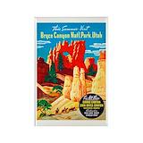 Vintage national parks Magnets
