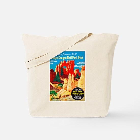 Utah Travel Poster 2 Tote Bag