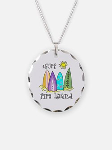 I Surf Fire Island Necklace
