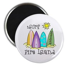 I Surf Fire Island Magnet