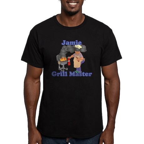 Grill Master Jamie Men's Fitted T-Shirt (dark)