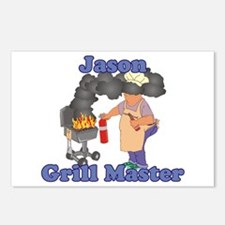 Grill Master Jason Postcards (Package of 8)