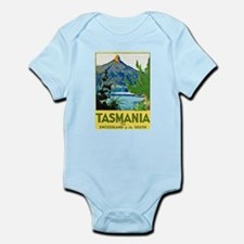 Tasmania Travel Poster 1 Infant Bodysuit