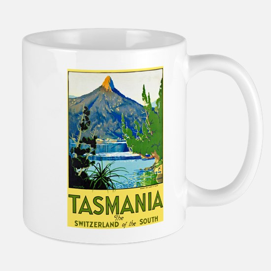 Tasmania Travel Poster 1 Mug