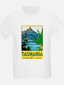 Tasmania Travel Poster 1 T-Shirt