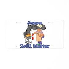 Grill Master Jaxon Aluminum License Plate