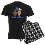 Grill Master Jay Men's Dark Pajamas