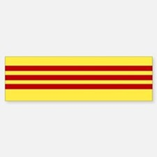 Vietnamese Freedom Flag Bumper Bumper Bumper Sticker