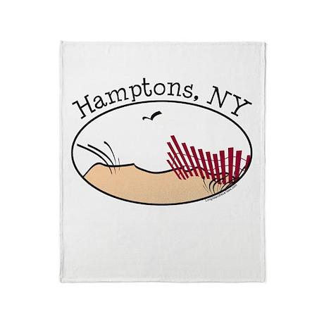 Hamptons NY Throw Blanket
