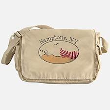 Hamptons NY Messenger Bag