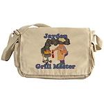 Grill Master Jayden Messenger Bag