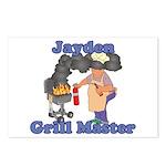 Grill Master Jayden Postcards (Package of 8)