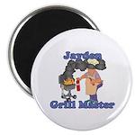 Grill Master Jayden Magnet