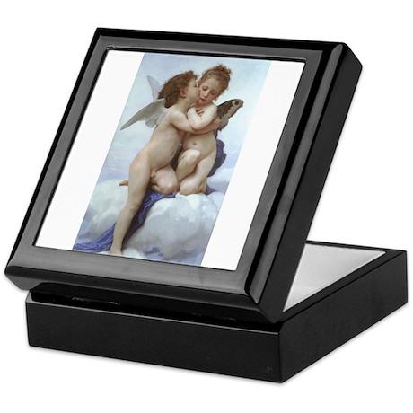 Bouguereau L'Amour et Psyché Keepsake Box