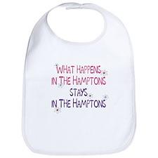 What Happens in the Hamptons Bib