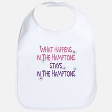 What Happens in the Hamptons Bib