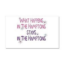 What Happens in the Hamptons Car Magnet 20 x 12