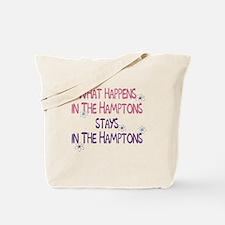 What Happens in the Hamptons Tote Bag