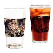 Renoir Portrait Of Two Children Drinking Glass