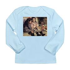 Renoir Portrait Of Two Children Long Sleeve Infant