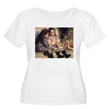Renoir Portrait Of Two Children T-Shirt