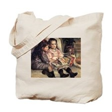 Renoir Portrait Of Two Children Tote Bag