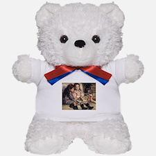 Renoir Portrait Of Two Children Teddy Bear