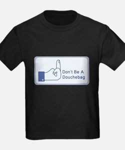 Facebook says dont be a douchbag T