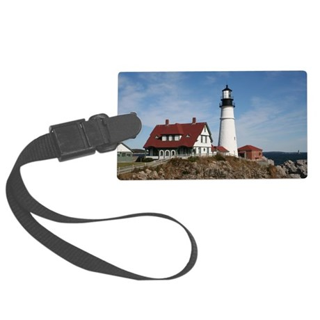 Portland Head Light Large Luggage Tag