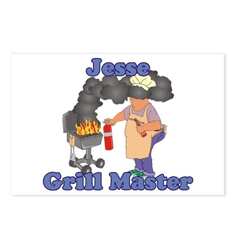 Grill Master Jesse Postcards (Package of 8)