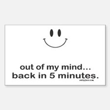 out of my mind Decal