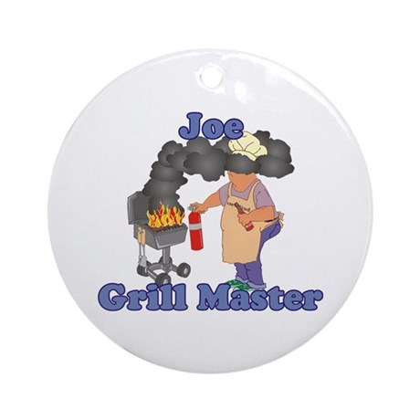 Grill Master Joe Ornament (Round)