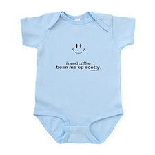 i need coffee Infant Bodysuit