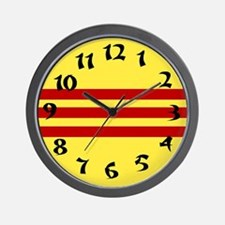 Vietnamese Flag Wall Clock