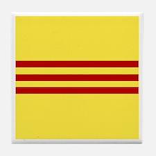 Flag of Free Vietnam Tile Coaster