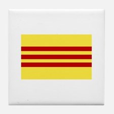 Flag of Vietnam Tile Coaster