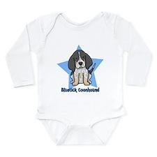 Unique Coonhound Long Sleeve Infant Bodysuit